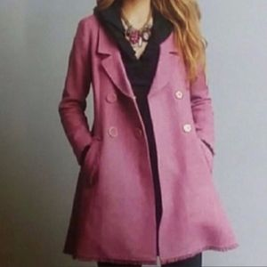Cabi Madison Avenue pink coat